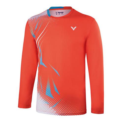 胜利T-85102男女羽毛球长袖T恤
