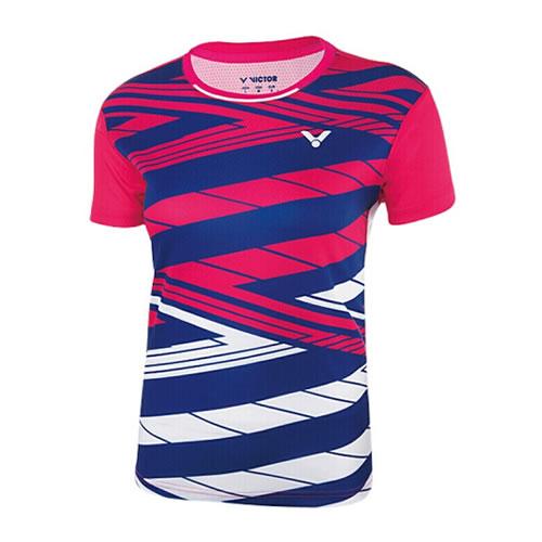 胜利T-81002女子羽毛球T恤