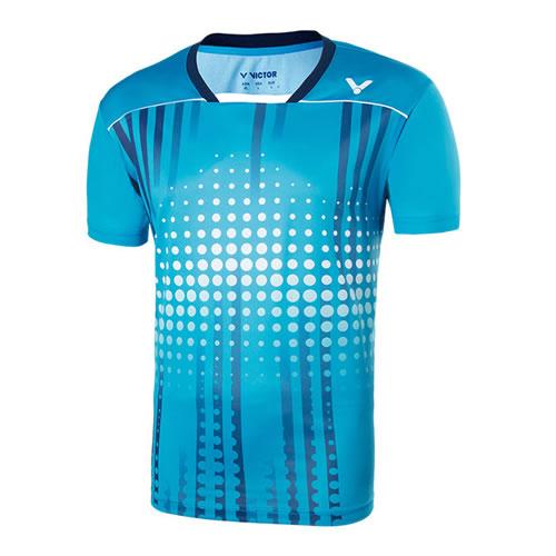 胜利T-75006男女羽毛球T恤