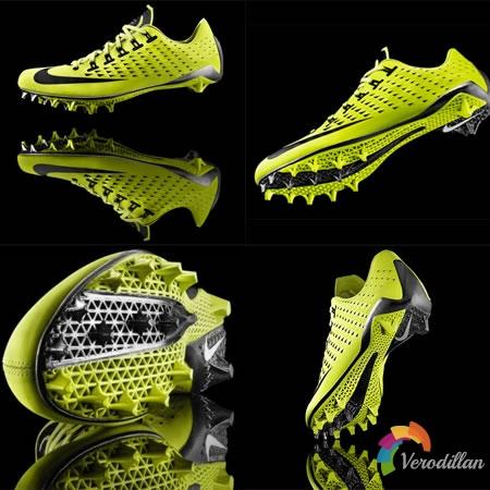 Nike Vapor Laser Talon,首款3D打印鞋底