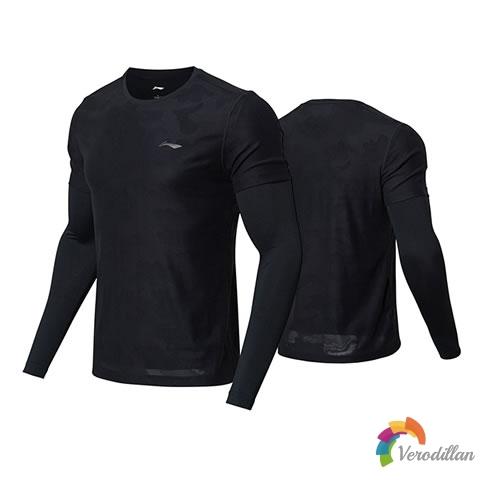 透气时尚-解读李宁ATLN169羽毛球长袖T恤