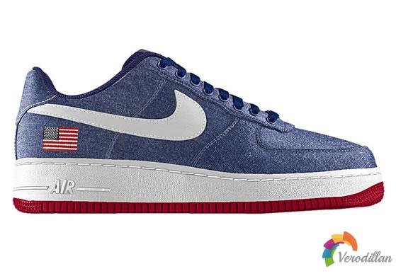 Nike Air Force 1推出国旗定制选项