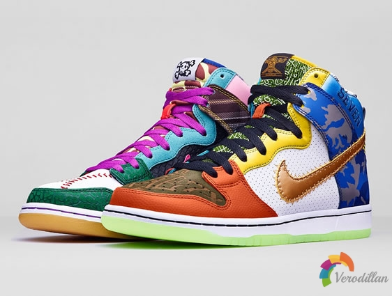 耐克发布Nike Dunk High SB What The Doernbecher