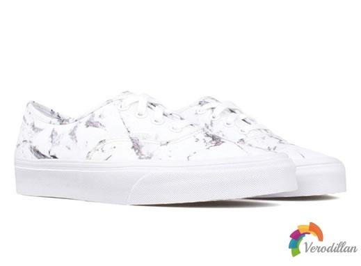 大理石印花:Vans Authentic Marble鞋款