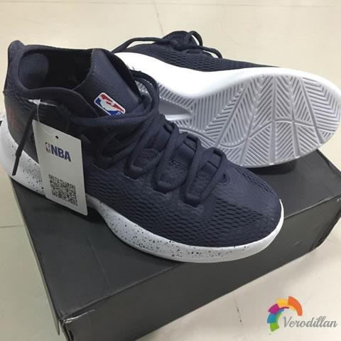 动态测评:NBA N1721002篮球文化鞋入手体验
