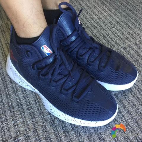 动态测评:NBA N1721002篮球文化鞋入手体验图3