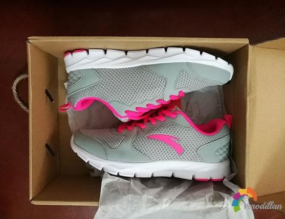 动态测评:安踏92625507女子跑鞋入手体验图1