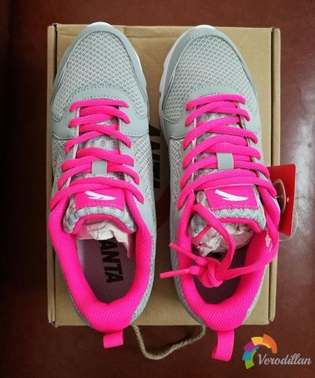 动态测评:安踏92625507女子跑鞋入手体验图3