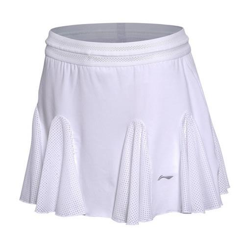 李宁ASKM088女子羽毛球短裙