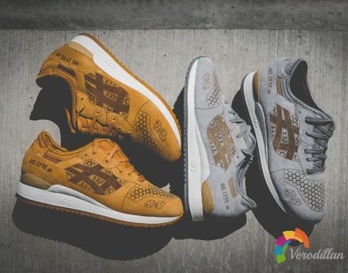 ASICS GEL-Lyte III Laser Cut鞋款,精湛工艺再现