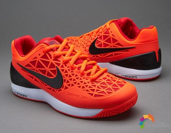 [设计解读]耐克Zoom Cage 2网球鞋,极致轻质快速