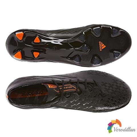 暗黑战士:adidas Predator LZ II全黑配色