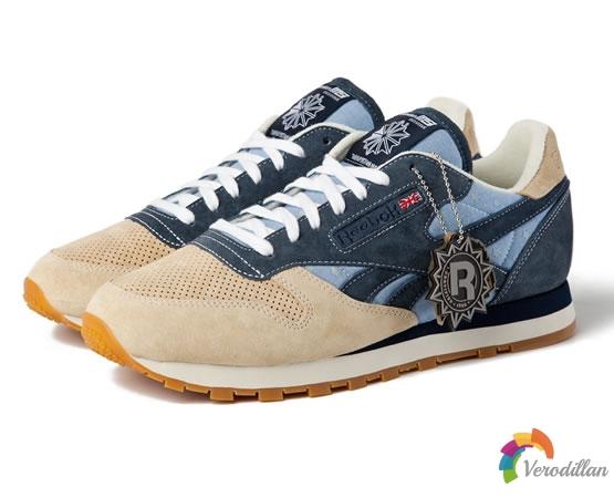 Reebok携手Mita Sneakers推出30周年Classic Leather版本