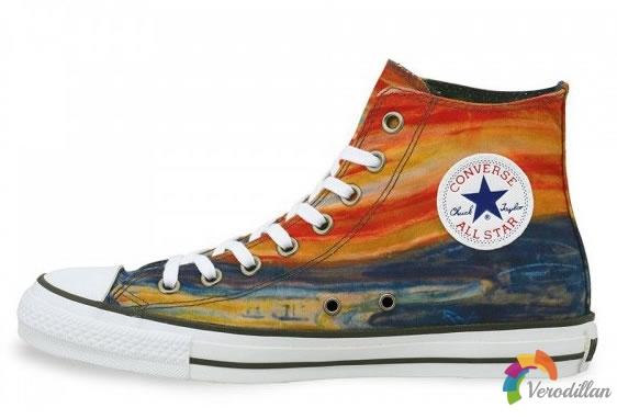 Converse x Edvard Munch Chuck Taylor All Star联名发布
