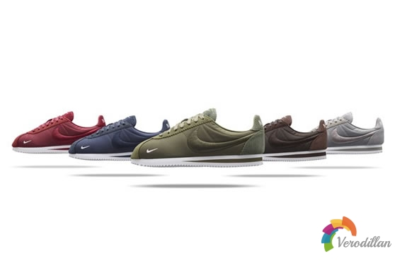 耐克发布NikeLab CORTEZ TEXTIL系列