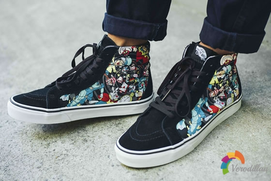 Vans x Disney Young at Heart,再度延续卡通情节