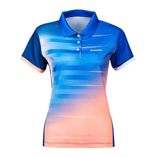 川崎ST-S2102女子羽毛球T恤