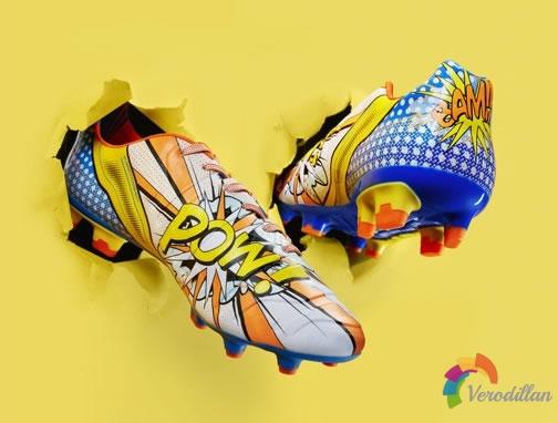 PUMA推出evoPOWER 1.2足球鞋,以波普艺术为灵感