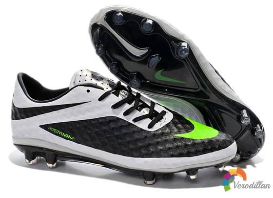黑白经典:Nike Hypervenom毒锋新增黑/白/绿新配色