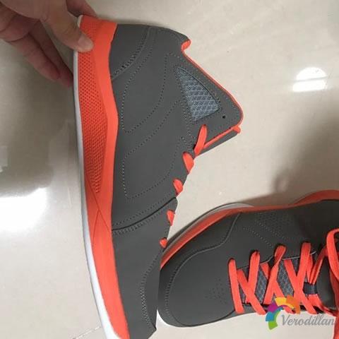 沃特52M6002篮球鞋试用测评图1