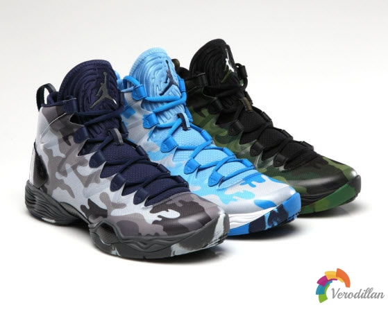 Air Jordan XX8 SE CAMO PACK,简洁轮廓硬汉迷彩