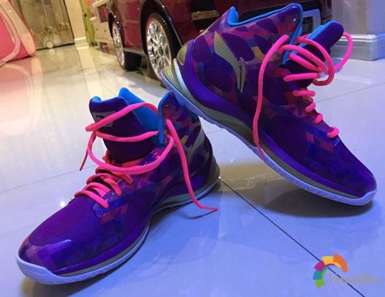 李宁ABPK021音速3篮球鞋试用测评图1