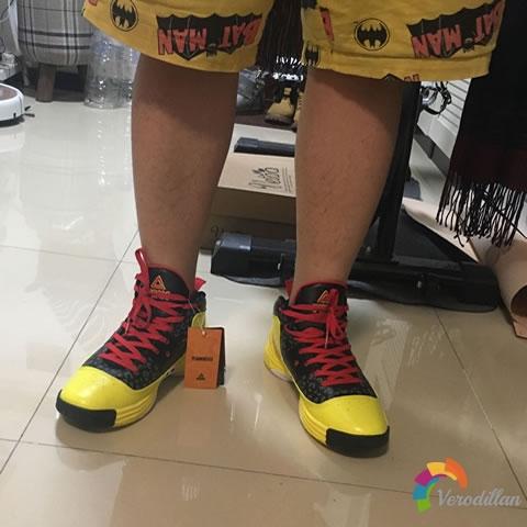 匹克E44271A猛兽篮球鞋试用测评图2