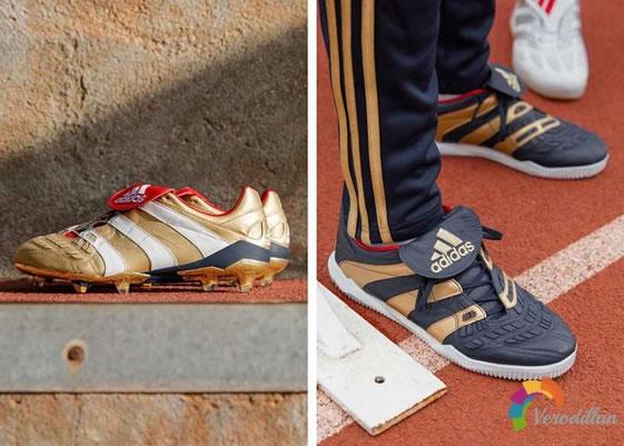 阿迪达斯推出25 Years of Predator足球鞋套装