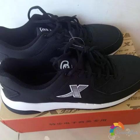 特步984419119153复古经典跑鞋试用测评