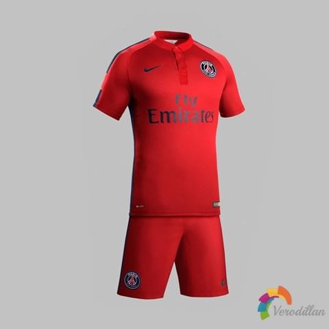 巴黎圣日耳曼2014/15赛季第二客场球衣发布