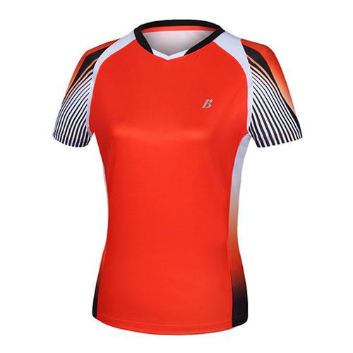 波力1CTL19019女子羽毛球短袖