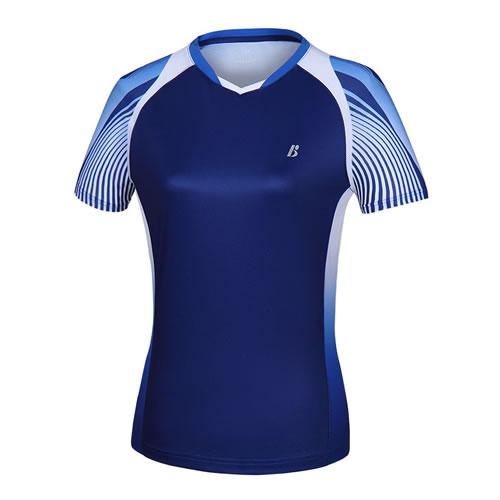 波力1CTL19018女子羽毛球短袖