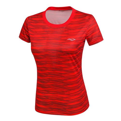波力1CTL17022女子羽毛球短袖