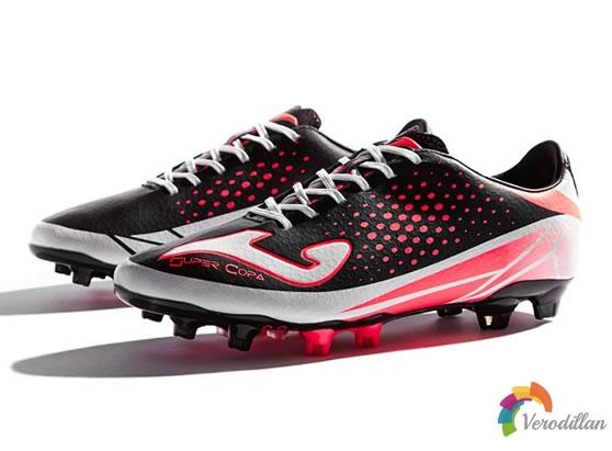 骄马为速度型球鞋Super Copa推出黑粉配色