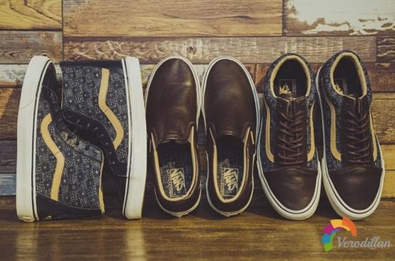 Vans推出复古牛仔布鞋款系列Indigo