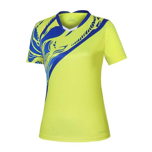 波力1CTL19013女子羽毛球短袖