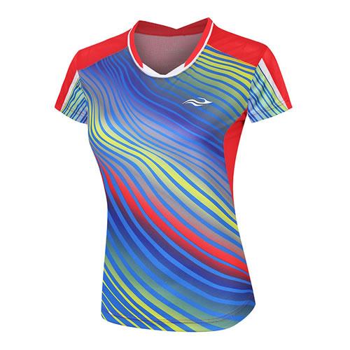 波力1CTL18002女子羽毛球短袖