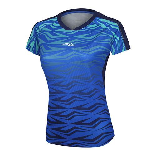 波力1CTL18010女子羽毛球短袖