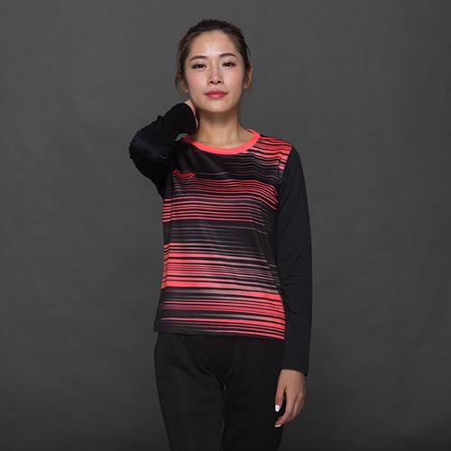 波力1CTL15092女子羽毛球长袖T恤图2高清图片