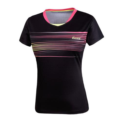 波力1CTL16055女子羽毛球短袖图1高清图片