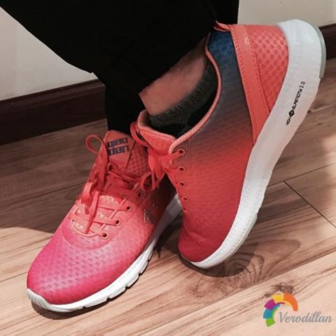 乔丹XM2660253网面女神跑鞋试用测评图2