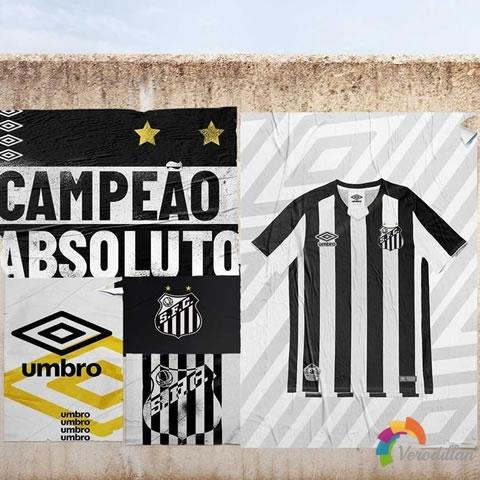 巴西桑托斯2019赛季客场球衣发布