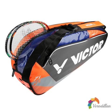 [细节解读]胜利BR7109羽毛球拍单肩包简评