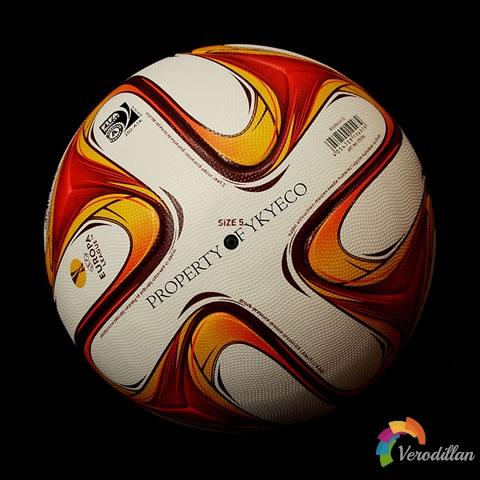 阿迪达斯2014/15赛季欧洲联赛官方用球发布
