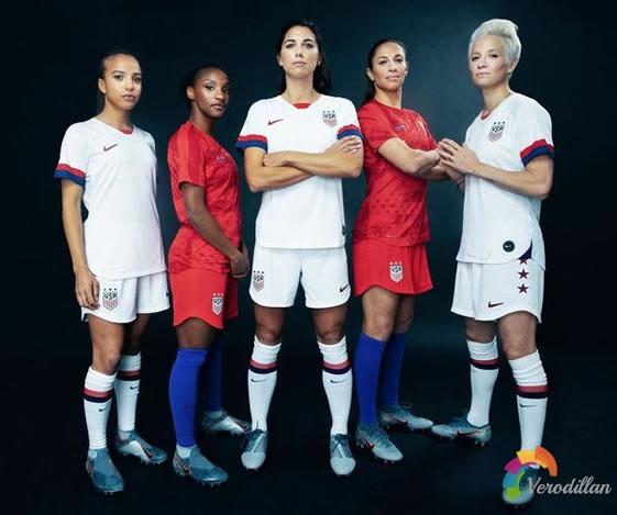 耐克发布美国女足2019女足世界杯主客场球衣