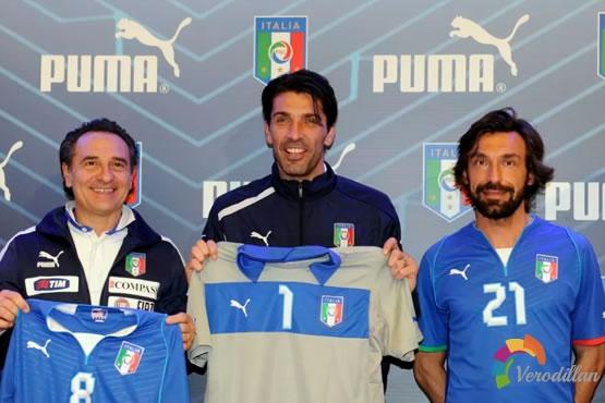 PUMA携手Italy发布2013联合会杯球衣