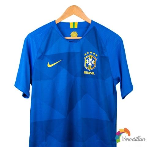 解读耐克巴西国家队2018客场球衣球迷版
