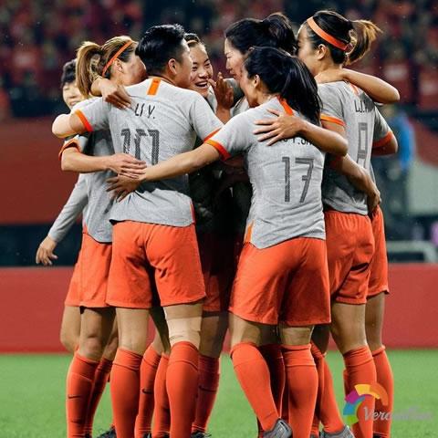 中国女足2019女足世界杯主客场球衣发布