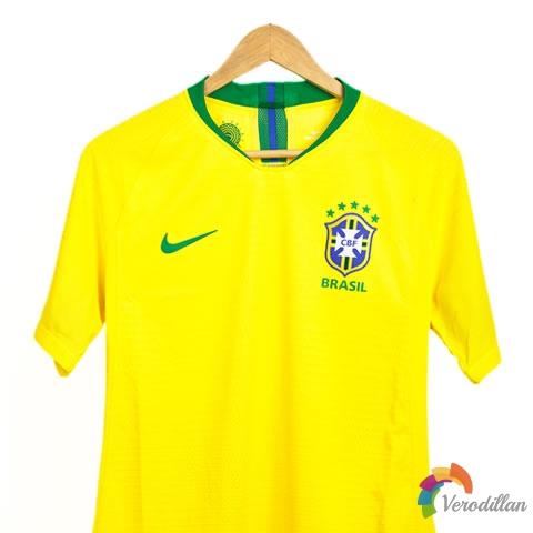 解读耐克巴西国家队2018主场球衣球员版