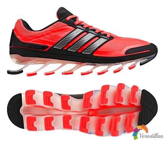 ADIDAS SPRINGBLADE刀锋跑鞋,绝佳包覆性能